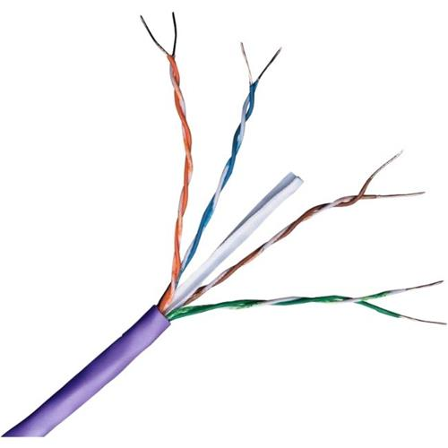 Connectix 305M Cat6 U/UTP Vaste Kern Paars Eca