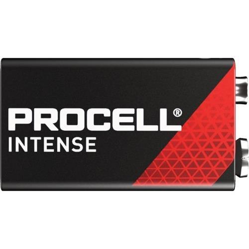Pack van 10 Pack stuks Duracel Intense 9V MN1604 6LF22 Alkaline batterijen
