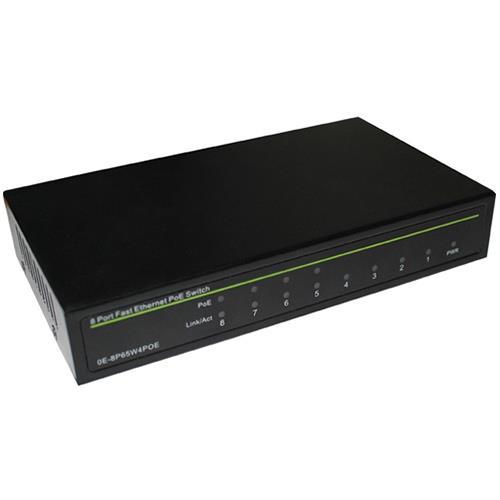 NETWERK SWITCH POE 8 Port Fast Ethernet