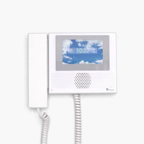 INTERCOM VIDEO BINNENPOST monitor/ hoorn
