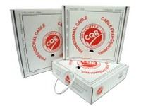 CQR Control kabel - 200 m - Kaal draad - Kaal draad - Wit