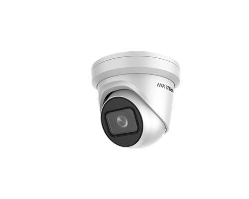 Hikvision EasyIP 2.0+ IP Eyeball/Turret camera Voor buitengebruik en vandaalbestendig Resolutie: 2MP Lens: 2.8-12mm MZF