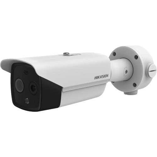 Hikvision Heatpro Bi-Spectrum Thermal IP Bullet Camera 160*120 3 Mm Lens IR 15m