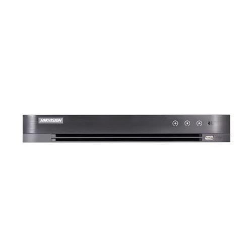 Hikvision Turbo HD Hybride IP + Analoog HD 4 Kanaals + 12 IP 1 SATA, capaciteit tot 10TB voor elke HDD Geen POE