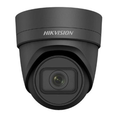 Hikvision EasyIP 3.0 IP Eyeball/Turret camera Voor buitengebruik en vandaalbestendig Resolutie: 4MP Lens: 2.8-12mm MZF