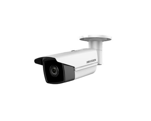 Hikvision EasyIP 2.0+ IP Bullet camera Voor buitengebruik Resolutie: 8MP Lens: 2.8mm
