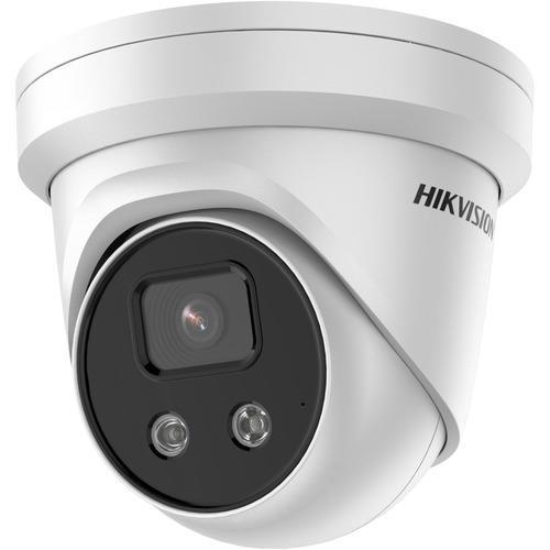 Hikvision Ultra Smart IP Turret Camera External 8mp Fixed Focal Lens IR 40m 12vdc Poe