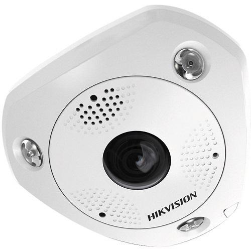 Hikvision Solution IP SMART IP Fisheye camera Voor buitengebruik Resolutie: 12MP Lens: 1.29mm