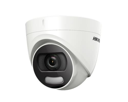 Hikvision Turbo HD HDoC Eyeball / Turret camera Voor buitengebruik Resolutie: 2MP Lens: 2.8mm