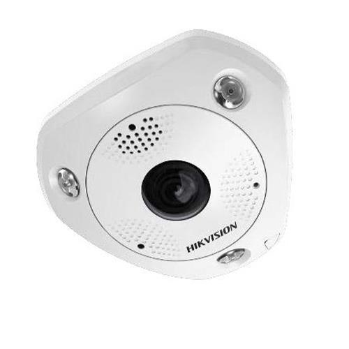 Hikvision Solution SMART IP IP Fisheye camera Voor buitengebruik Resolutie: 6MP Lens: 1.27mm(360°)