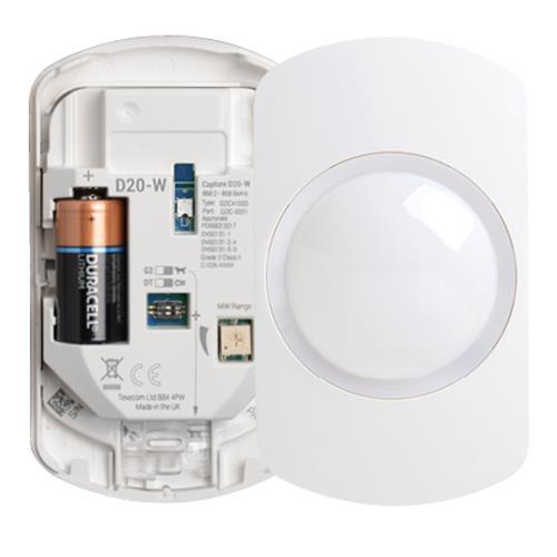 Texecom Capture Draadloze Dual Detector (D20-W)