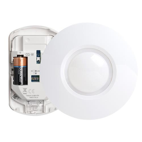 Texecom Capture Draadloze 360° Plafond Quad PIR (Cq-W)