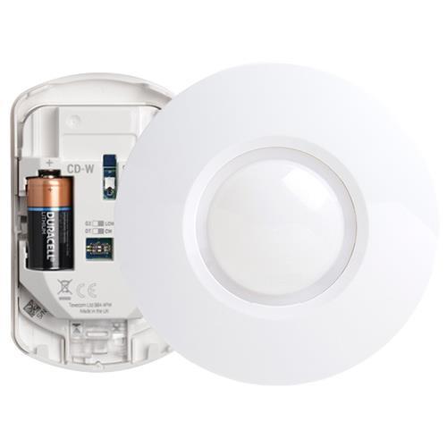 Texecom Capture Draadloze 360° Plafond Dual Detector (Cd-W)