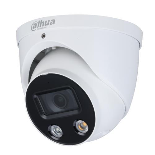 Dahua Wizsense Full-color DH-IPC-HDW3249HP-AS-PV IP Eyeball / Turret camera Resolutie 2MP Lens: 2.8mm
