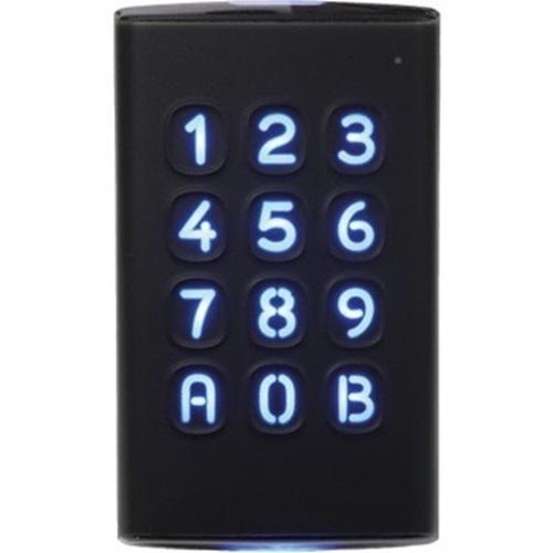 Cdvi, K3 Krypto Lezer/Keypad Desfire, Ev2, Osdp-2 Compatibel, Ip65