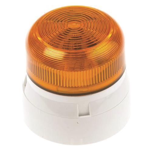 Klaxon Flashguard QBS-0054 Beveiligingsstroboscoop - 24 V DC - Visueel - Amber, Wit