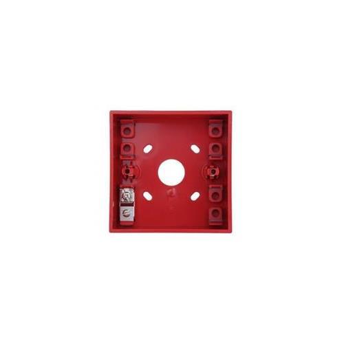 Morley-IAS SR1T Montagedoos - Rood - Oppervlakbevestiging