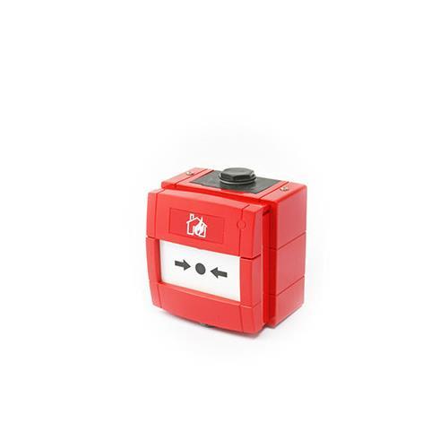 KAC WCP1A-R470SF-01 Handmatig oproeppunt Voor Binnen/buiten - Rood - Polycarbonaat, ABS-plastic