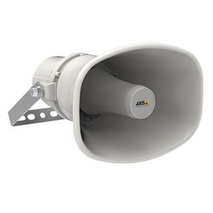 AXIS C1310-E Network Horn Speaker is perfect for outdoor environments in most climates.