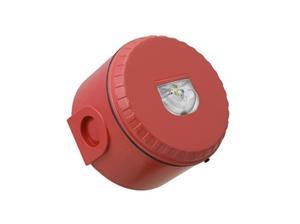 Fulleon Solista LX Beveiligingsstroboscoop - 60 V DC - Visueel - Op muur monteerbaar - Rood, Rood