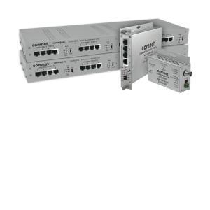 Comnet Transceivers & mediaconverters - 1 x Netwerk (RJ-45) - Optische vezel, Twisted-pair - Fast Ethernet
