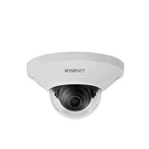Wisenet Q - IP dome camera, Voor binnengebruik, Resolutie 2MP, Lens 2.8mm - 113,7 °