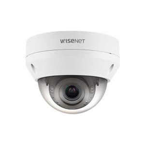 Hanwha Wisenet IP Dome camera Voor buitengebruik en vandaalbestendig Resolutie: 2MP Lens: 3.2-10mm