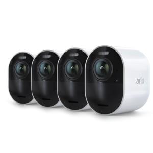 Arlo Ultra 4K Cameraset met 4 camera's