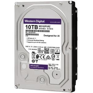 Western Digital WD Purple Capaciteit: 10TB Tot 64 Streams Interface SATA Form Factor 3.5