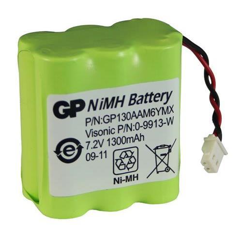 NiMH batterijpack 7.2V/1.3Ah
