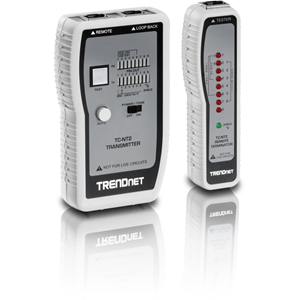 TRENDnet TC-NT2 Kabeltester - Maximaal 0,30 km Lenght Measurement