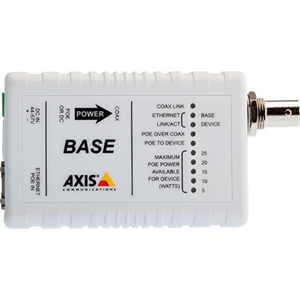 AXIS T8641 Ethernet/PoE Over Coax basis