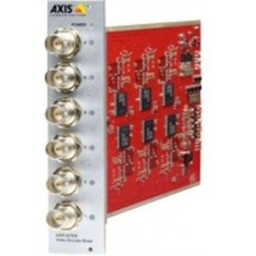 AXIS Q7436 Video-encoder - Mes - Functies: Video-encoding, Videocompressie, Videostreaming - 1,50 GB RAM - 720 x 576 - Composite video