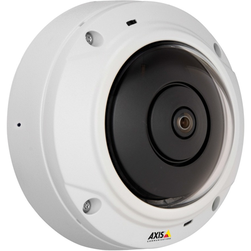AXIS M3037-PVE Netwerkcamera - Kleur, Monochroom - MPEG-4 AVC, H.264, Motion JPEG - 2592 x 1944 - 1,27 mm - RGB CMOS - Kabel - dome