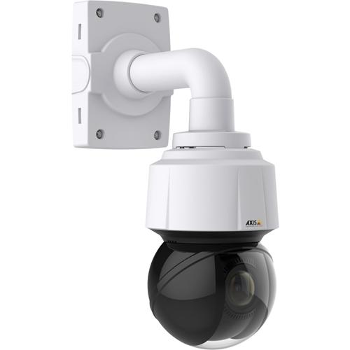 AXIS Q6128-E Netwerkcamera - Kleur, Monochroom - Motion JPEG, H.264, MPEG-4 AVC - 3840 x 2160 - 3,90 mm - 46,80 mm - 12x optische - CMOS - Kabel - dome - Muurbevestiging, Hangbevestiging, Plafondsteun, Paalmontage, Voetmontagebeugel, Hoekbevestiging