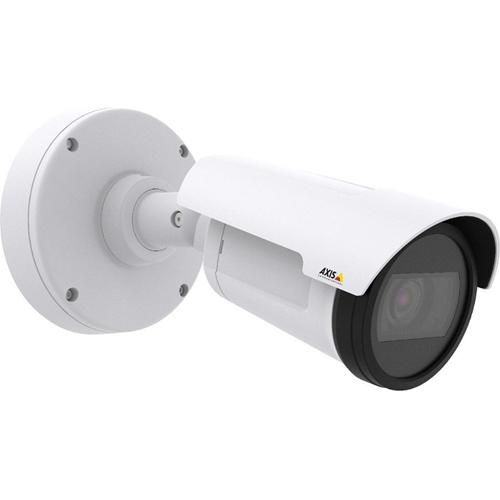 AXIS P1435-LE Netwerkcamera - Monochroom, Kleur - 30 m Night Vision - Motion JPEG, H.264, MPEG-4 AVC - 1920 x 1080 - 3 mm - 10,50 mm - 3,5x optische - CMOS - Kabel - Kogel - Bevestiging voor toestelverbindingsdoos, Paalmontage, Hoekbevestiging, Beugelmontage
