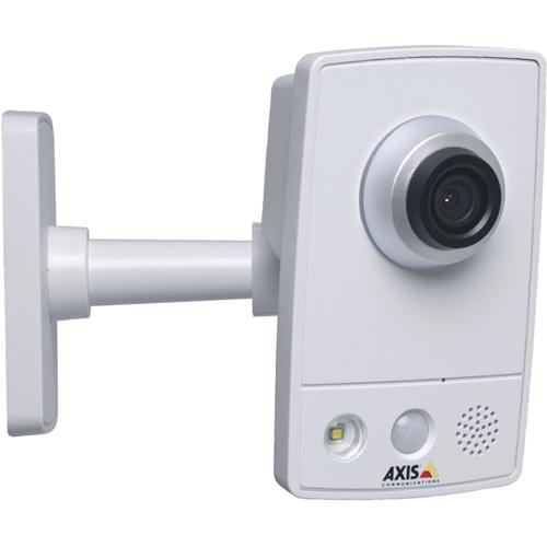 AXIS M1045-LW Netwerkcamera - Kleur - 10 m Night Vision - H.264 - 1920 x 1080 - 2,80 mm - Kabel, Draadloos - Cube - Hoekbevestiging, Muurbevestiging, Op tafel monteerbaar