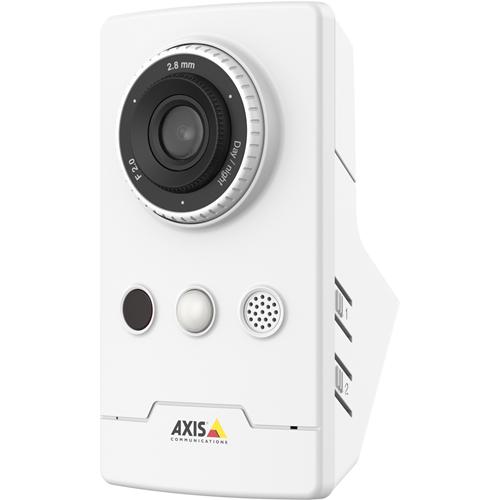 AXIS M1065-LW Netwerkcamera - Kleur - 1920 x 1080 - Kabel, Draadloos - Cube - Hoekbevestiging, Muurbevestiging