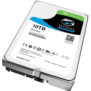 Seagate SkyHawk ST10000VX0004 10 TB Intern Harde schijf - SATA - 256 MB buffer