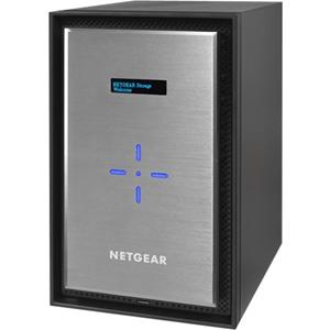 "Netgear ReadyNAS RN528X 8 x Total Bays SAN/NAS-opslagsysteem - Bureaublad - 1 x Intel Pentium D1508 Dual-core (2 Core) 2,20 GHz - 4 GB RAM DDR4 SDRAM - Serial ATA/600 controller - RAID-ondersteund 0, 1, 5, 6, 10, JBOD - 8 x 2.5""/3.5"" gleuf - 10 Gigabit Ethernet - eSATA - 3 USB Port(s) - 3 USB 3.0 Port(s) - Netwerk (RJ-45) - ReadyNAS OS 6 - iSCSI, DLNA, LACP, IPv6, NTP, WEBDAV, SSL/TLS, AFP, CIFS, IPv4, Bonjour, ..."