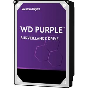 """WD Purple WD80PURZ 8 TB 3.5"""" Intern Harde schijf - SATA - 5400rpm - 128 MB buffer"""
