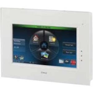 Honeywell Galaxy TouchCenter Plus Toetsenbord, touchscreen van beveiligingspaneel - Voor Bedieningspaneel - Wit