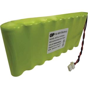 Visonic Beveiligingsapparaat, Draadloos alarm Batterij - 1800 mAh - Nickel Metal Hydride (NiMH) - 9,6 V DC - Oplaadbare batterij