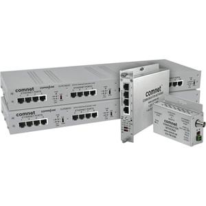 ComNet CopperLine CLFE1EOC Netwerk Extender - 1 x Netwerk (RJ-45) - 1,52 km Extended Range
