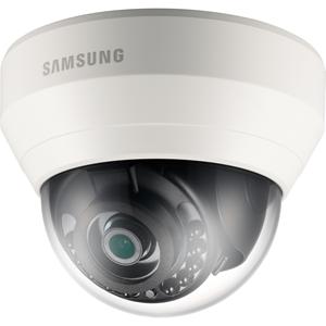 Hanwha Techwin WiseNet Lite SNDL6013RP 2 Megapixel Netwerkcamera - Monochroom, Kleur - 15 m Night Vision - Motion JPEG, H.264 - 1920 x 1080 - 3,60 mm - CMOS - Kabel - dome