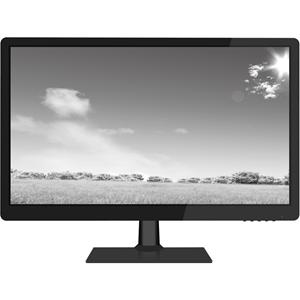 "W Box WBXMP1854 47 cm (18,5"") LCD-monitor - 16:9 - 9 ms - 1360 x 768 - 16,7 miljoen kleuren - 200 cd/m² - 50,000:1 - HD - Luidsprekers - HDMI - VGA - Glanzend zwart, Mat zwart"