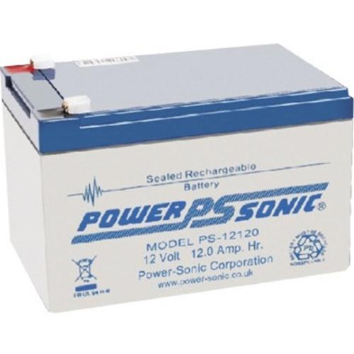Power-Sonic PS-12120 Multifunctioneel Batterij - 12000 mAh - Niet-standaard batterijmaat - Gesloten lood (SLA) - 12 V DC - Oplaadbare batterij