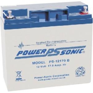 Power-Sonic PS-12170 Multifunctioneel Batterij - 17000 mAh - Gesloten lood (SLA) - 12 V DC - Oplaadbare batterij - 1 / Pak