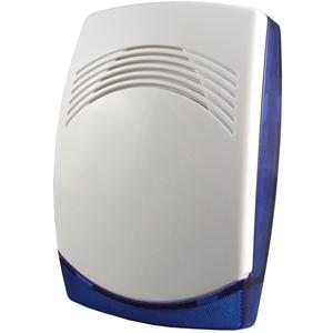 CQR Piccolo Beveiligingsalarm - 15 V DC - 112 dB(A) - Hoorbaar, Visueel - Blauw, Wit