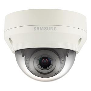 Hanwha Techwin WiseNet QNV-7080RP 4 Megapixel Netwerkcamera - Monochroom, Kleur - 30 m Night Vision - Motion JPEG, H.264 - 2688 x 1520 - 2,80 mm - 12 mm - 4,3x optische - CMOS - Kabel - dome
